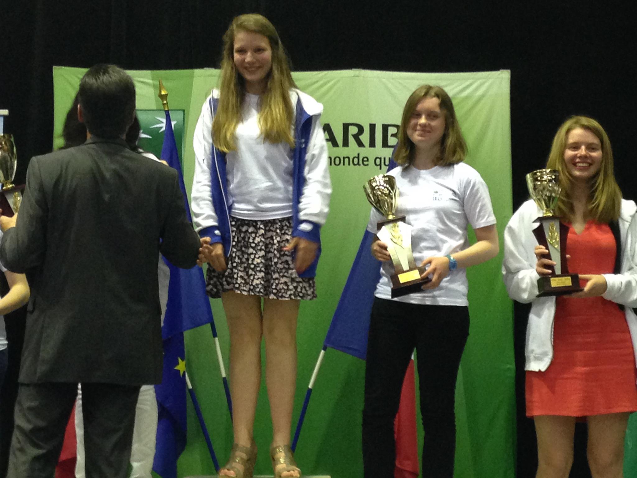 Un podium pour Poitiers-Migné Echecs