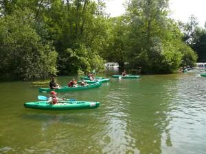 Stage jeunes échecs-kayak du 9 au 13 juillet à Mansle